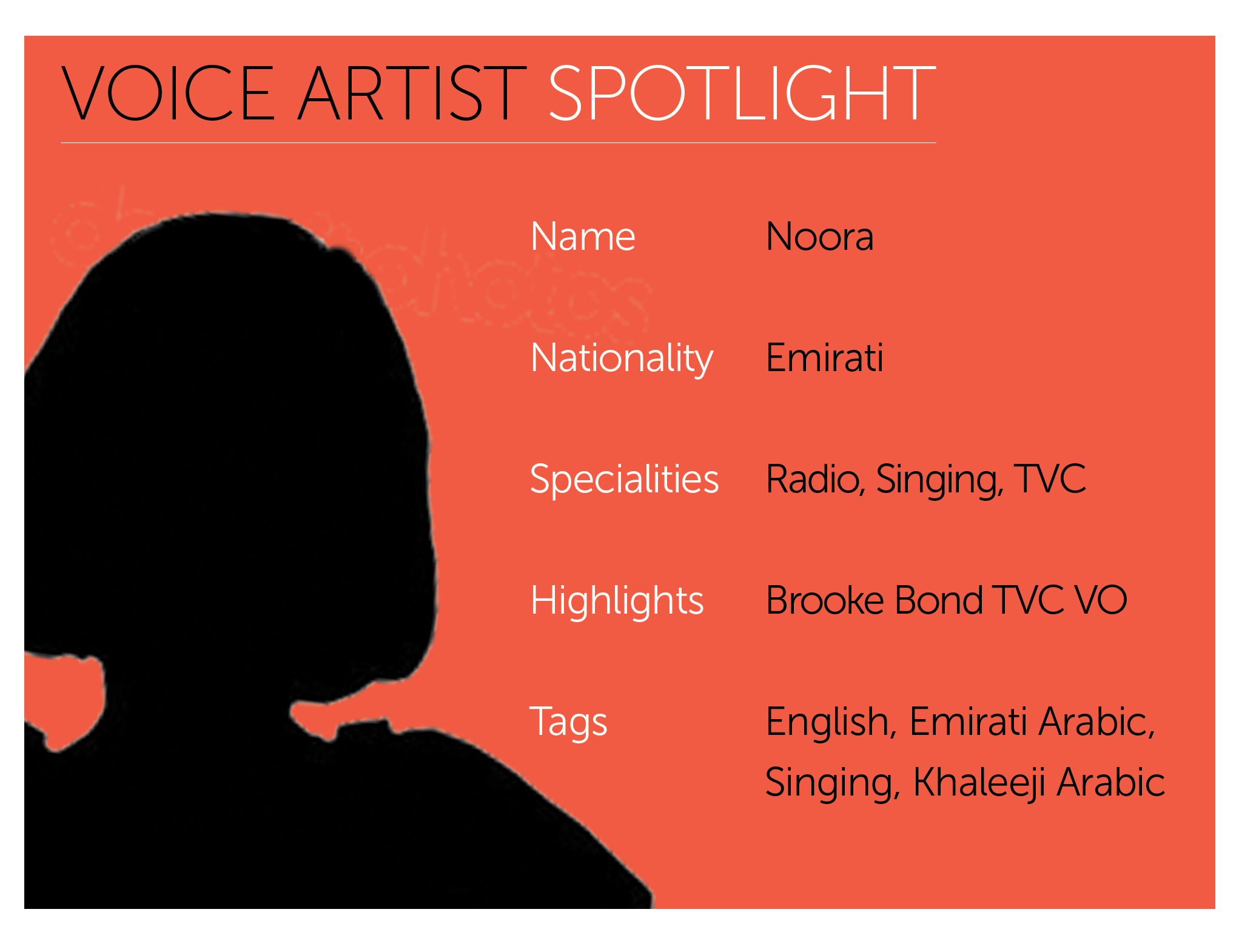 Arabic Voice Actor Spotlight | Noora | Vox Arabia